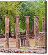 Ancient Olympia, Greece. Canvas Print