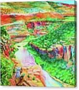 Ancient One Views River Canvas Print