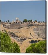 Ancient Pergamon Acropolis Canvas Print