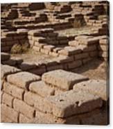 Ancient Pueblo Adobe Walls Canvas Print