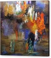 Ancient Ritual  Series Canvas Print