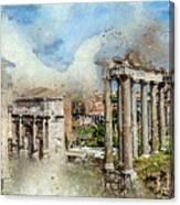 Ancient Rome II Canvas Print