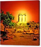 Ancient Ruins Canvas Print