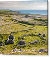 Ancient Settlement In The Burren Canvas Print