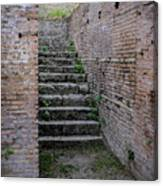 Ancient Stairs Rome Italy Canvas Print