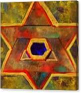 Ancient Star Canvas Print