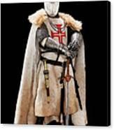 Ancient Templar Knight - 02 Canvas Print
