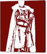 Ancient Templar Knight - 03 Canvas Print