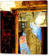 Ancient Wall 3 By Michael Fitzpatrick Canvas Print