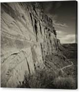 Ancient Walls Canvas Print