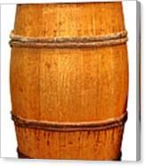 Ancient Whisky Barrel Canvas Print
