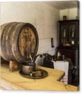Ancient Wine Shop Canvas Print