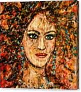 Ancient Woman Canvas Print