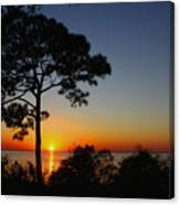 Anclote Gulf Sunset Canvas Print