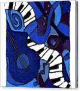and All That Jazz two Canvas Print