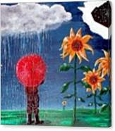 And The Heavens Opened Canvas Print