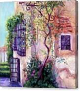 Andalucian Garden Canvas Print