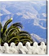 Andalusian View Canvas Print