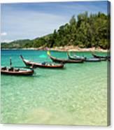 Andaman Coast Canvas Print