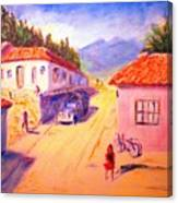 Andean Village Canvas Print
