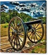 Andersonville Cannon Canvas Print