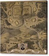 Andersonville Prison Canvas Print