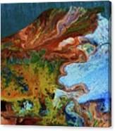 Andes...glacier... Canvas Print