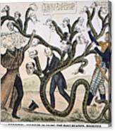 Andrew Jackson (1828) Canvas Print