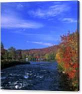 Androscoggin River Headwaters Canvas Print
