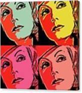 Andy Loves Greta Canvas Print
