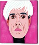 Andy Warhol Canvas Print