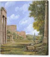 Anfiteatro Romano Canvas Print
