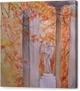 Ange  Petit Trianon Versailles Canvas Print