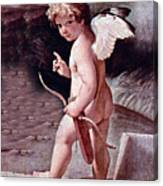 Angel - The Angel Of Love Canvas Print