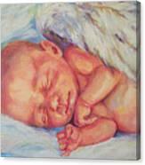Angel Baby Canvas Print