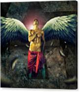 Angel Body Art Canvas Print