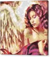 Angel Fragmented Canvas Print