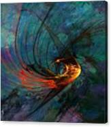Angel From The Deep Canvas Print
