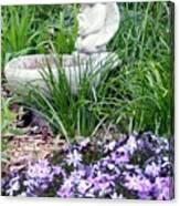 Angel Garden Canvas Print
