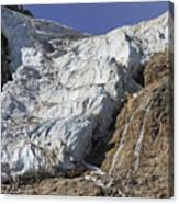 Angel Glacier Canvas Print