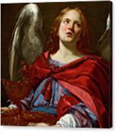 Angel Holding The Vessel And Towel For Washing The Hands Of Pontius Pilate Canvas Print