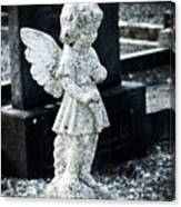 Angel In Roscommon No 3 Canvas Print