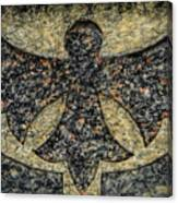 Angel In Stone Canvas Print