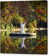 Angel In The Lake - St. Mary's Ambler Canvas Print