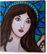 Angel Kim Canvas Print