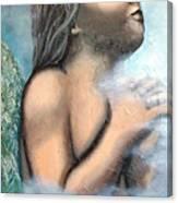 Angel Of Faith Canvas Print