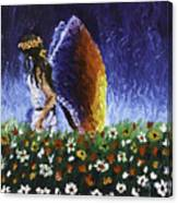 Angel Of Harmoy Canvas Print