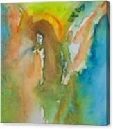 Angel Of Kindness Canvas Print