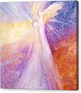 Angel Of Light Canvas Print