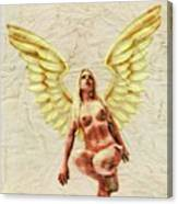 Angel Of Love By Mb Canvas Print